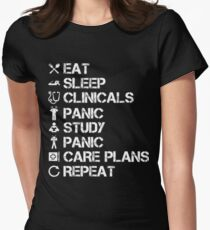 Funny Nursing Student Women's Fitted T-Shirt