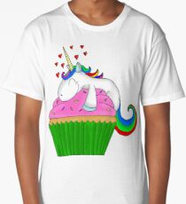 Unicorn Cupcake Long T-Shirt