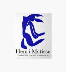 GRAND PALAIS: Jahrgang 1970 Matisse La Chevelure Ausstellung Werbung Print Galeriedruck