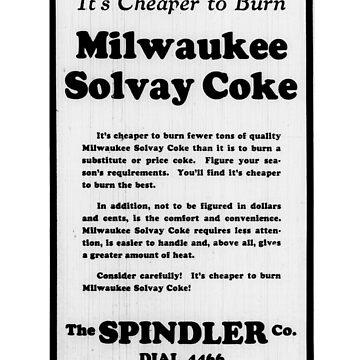 Solvay Coke Vintage 1920s by pgnas
