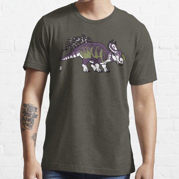 Purple and Green Pachyrhinosaurus Essential T-Shirt