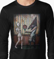 663977956ed99 Silent Hill- Pyramid Head & Nurse Long Sleeve T-Shirt
