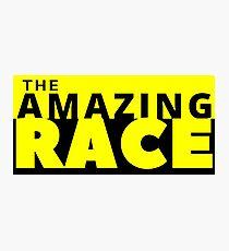 the amazing race Photographic Print