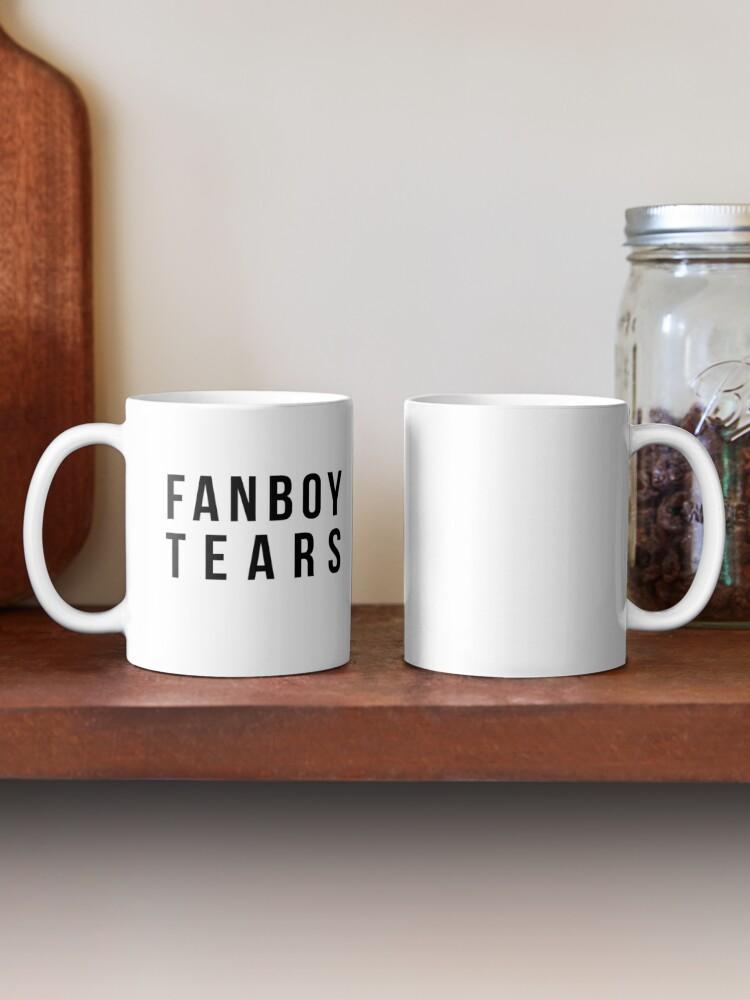Alternate view of Fanboy Tears Mug