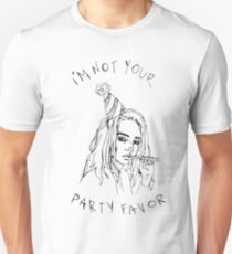 i'm not your party favor Unisex T-Shirt