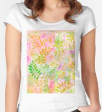 Layer Upon Layer # 4 Women's Fitted Scoop T-Shirt