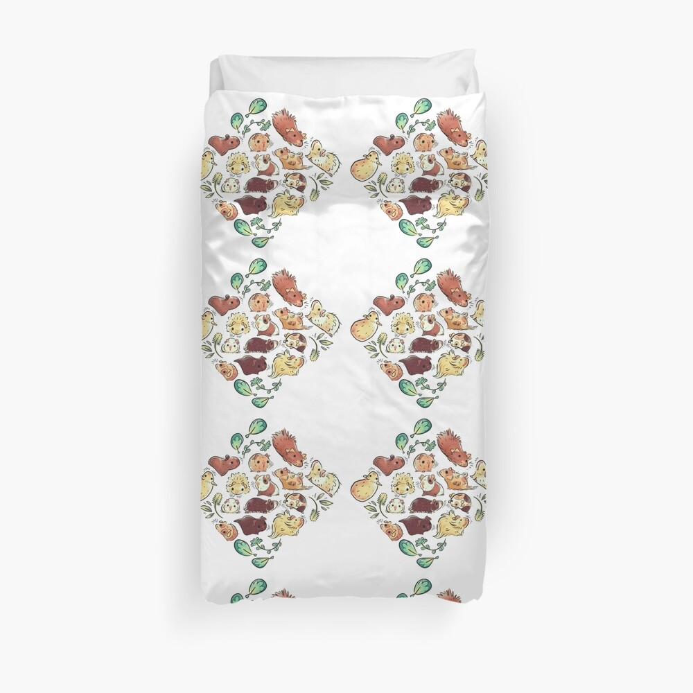 Guinea Pig Diamond  Duvet Cover