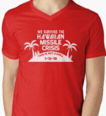 Hawaii Missile Crisis Men's V-Neck T-Shirt