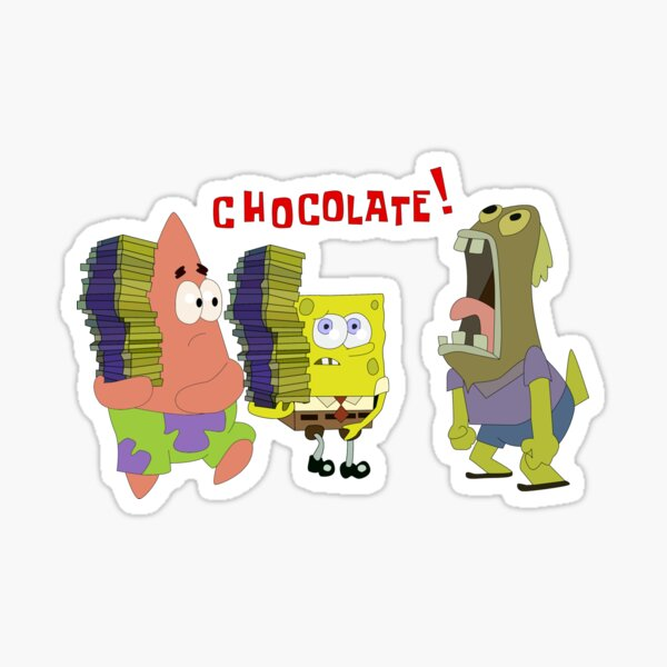 SCHOKOLADE! Sticker