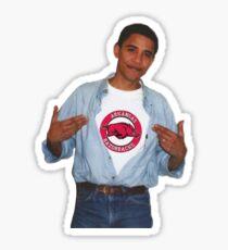 Yung Bama - Arkansas Razorbacks Sticker