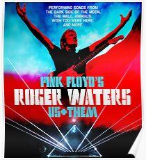roger waters 2018 tour us them soenda Poster