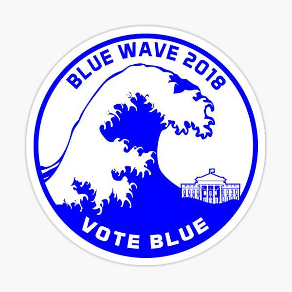Blue Wave 2018 Sticker