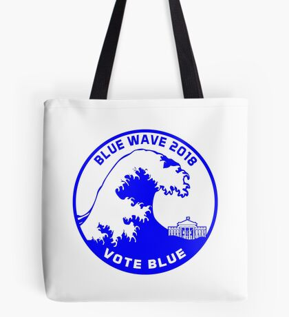 Blue Wave 2018 Tote Bag