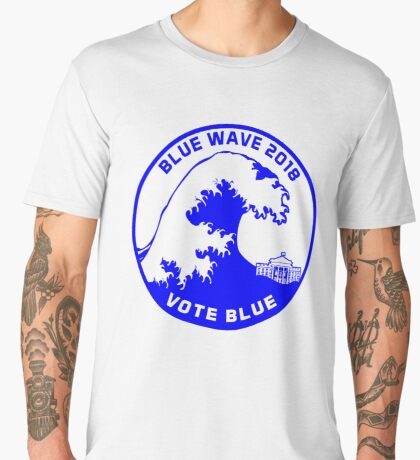 Blue Wave 2018 Men's Premium T-Shirt