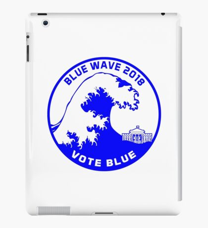 Blue Wave 2018 iPad Case/Skin