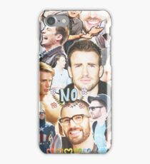 chris evans collage iPhone Case/Skin