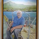 The Fisherman & his Boat by Ken Tregoning