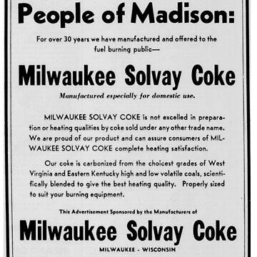 People of Madison! Milwaukee Solvay Coke! by pgnas