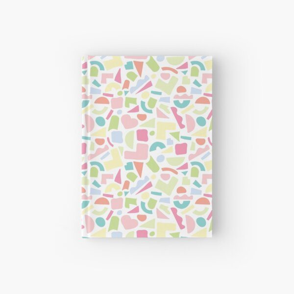 Cut Paper Pastel Print Hardcover Journal