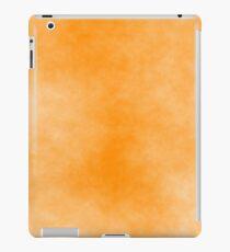 Dark Orange on White 10 100 DF  iPad Case/Skin