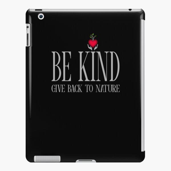 Be Kind - Text - Dark Background iPad Snap Case