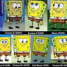 Spongebob Evolution Poster by fr0gio
