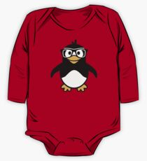 Penguin glasses One Piece - Long Sleeve