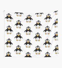 Penguin glasses Wall Tapestry