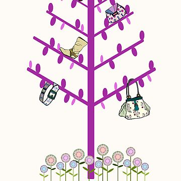If Only Fashion Grew on Trees! by bexwie