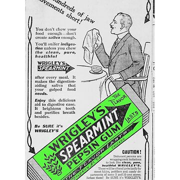 Wrigleys Spearmint Pepsin Vintage by pgnas
