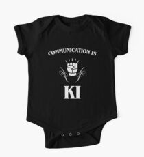 Communication is Ki - Funny Monk Valentines Day - DnD One Piece - Short Sleeve