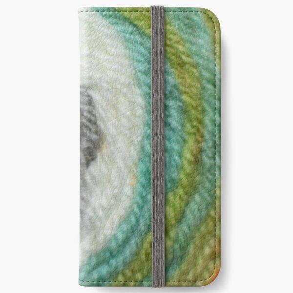 Color Burst Yarn Cake iPhone Wallet