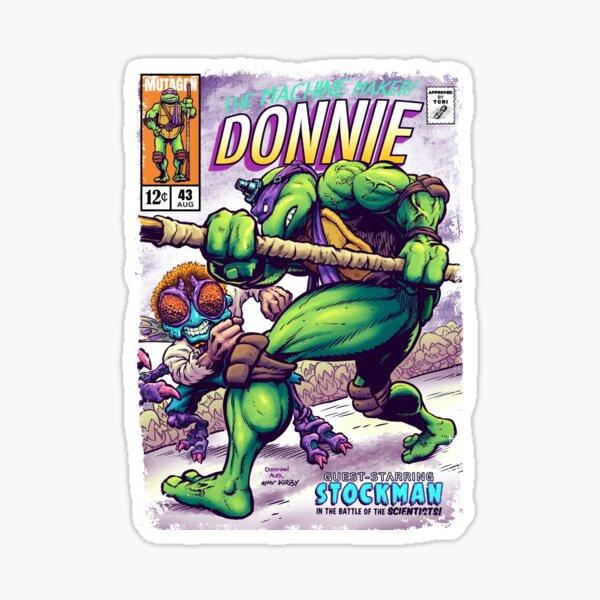 Donnie Comics Sticker