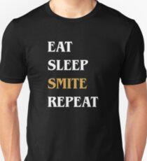 Eat Sleep Smite Repeat - Funny Paladin Unisex T-Shirt