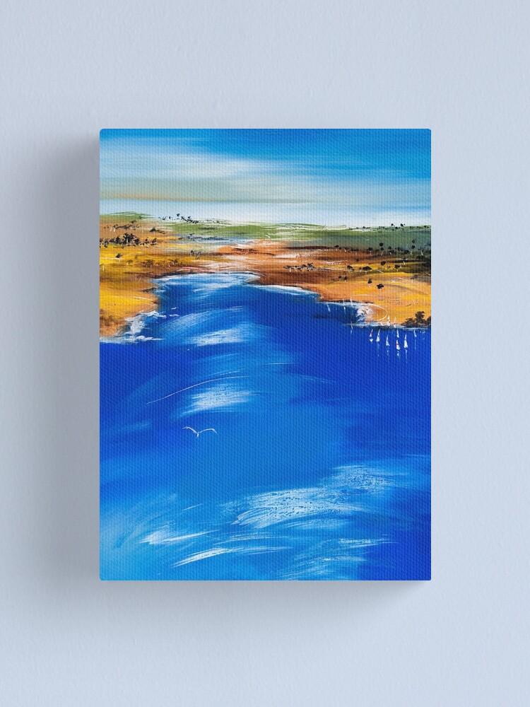 Alternate view of SUNDAY SAILING Canvas Print