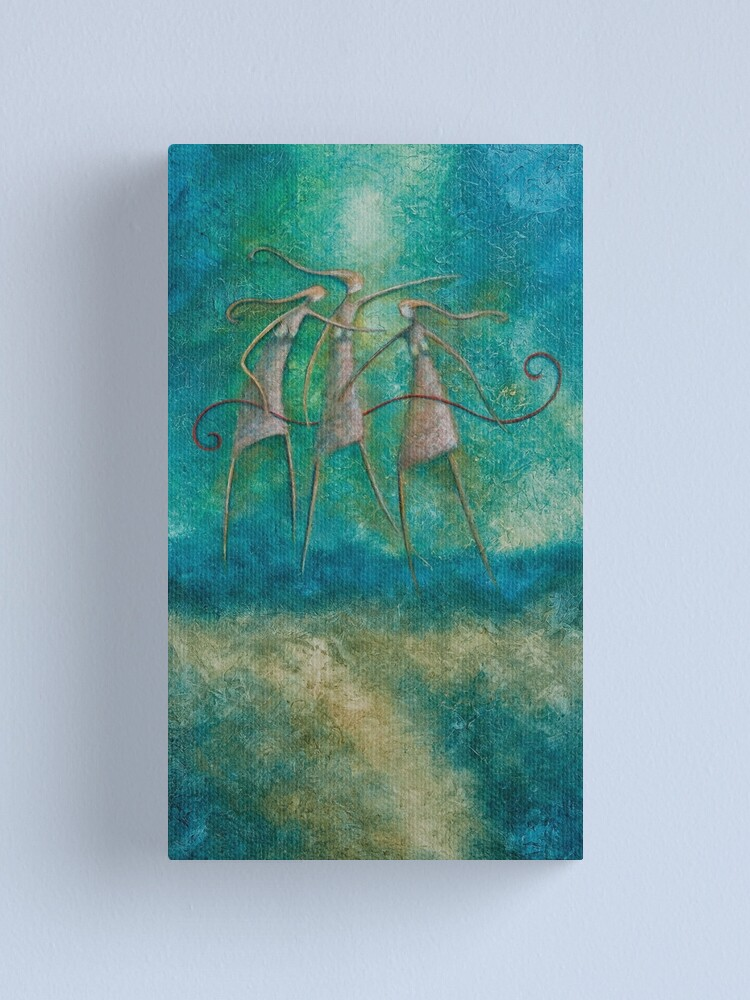 Alternate view of THE GRAEAE - DAUGHTERS OF PHORCYS Canvas Print