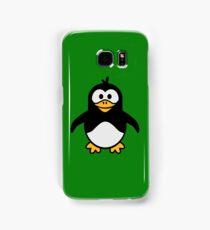 Comic penguin Samsung Galaxy Case/Skin