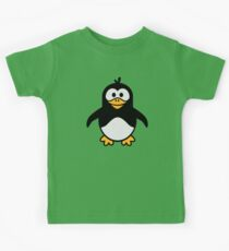 Comic penguin Kids Clothes