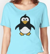 Comic penguin Women's Relaxed Fit T-Shirt