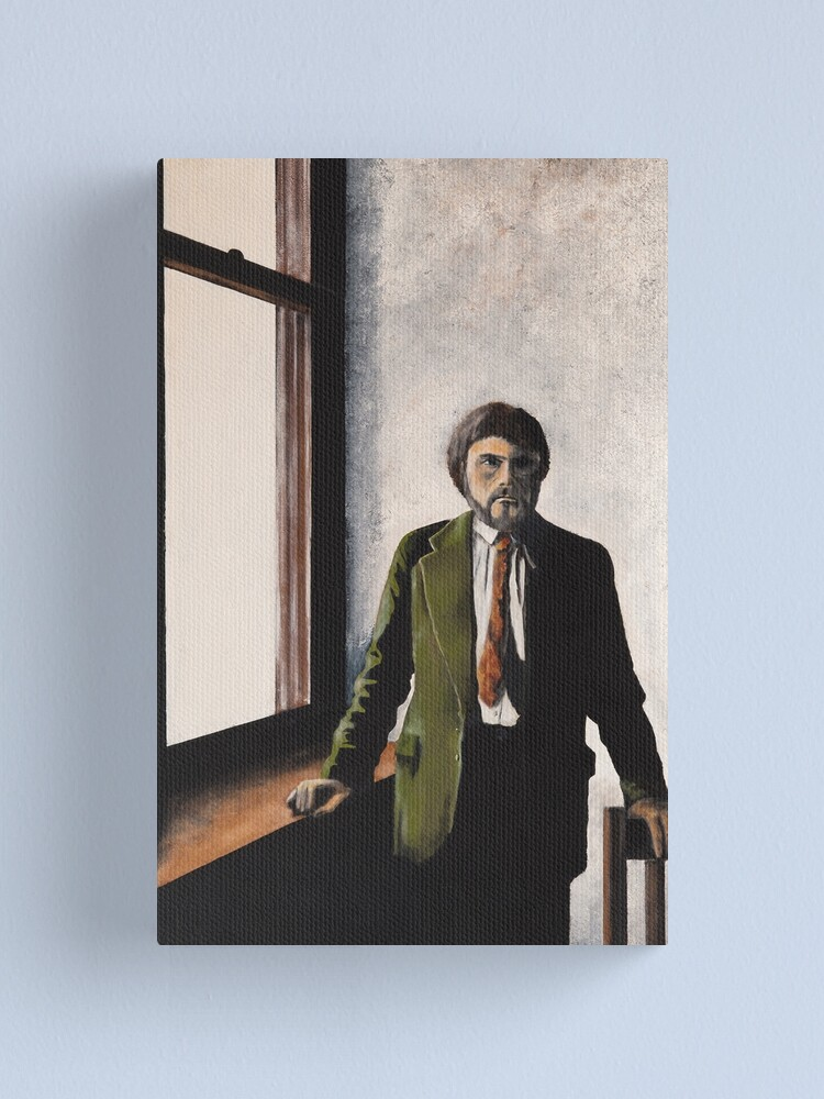 Alternate view of EXILE - THE PAINTER Canvas Print