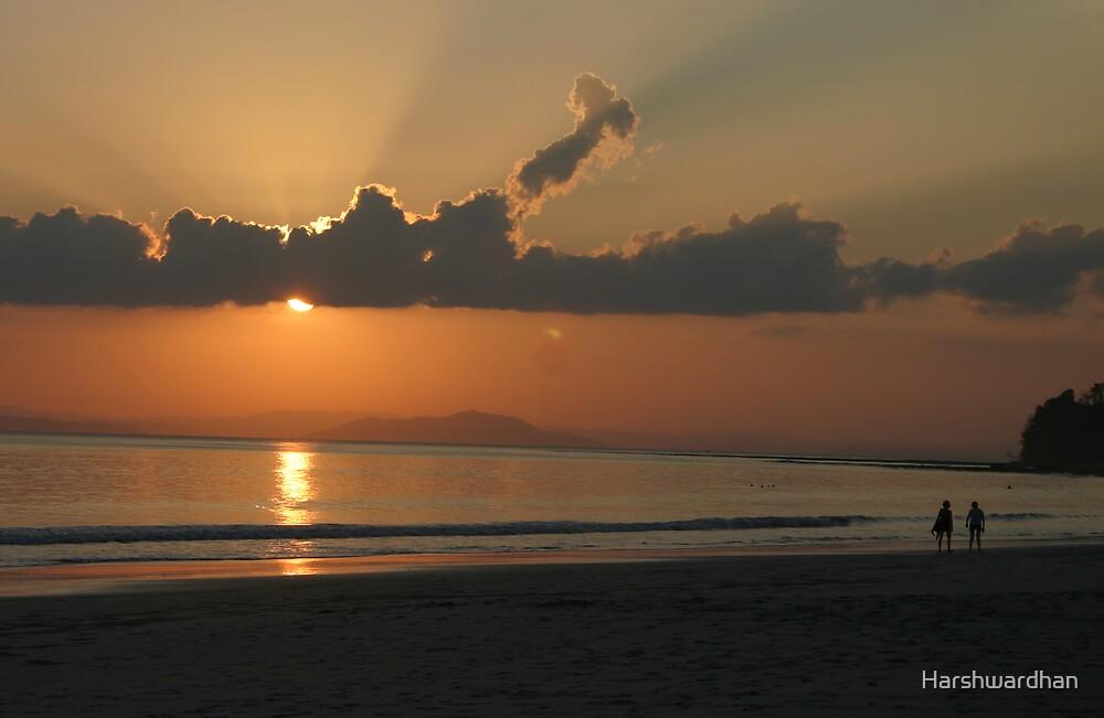 Sunset by Harshwardhan