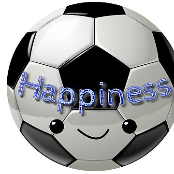 Happiness - Football (soccer) by pokingstick