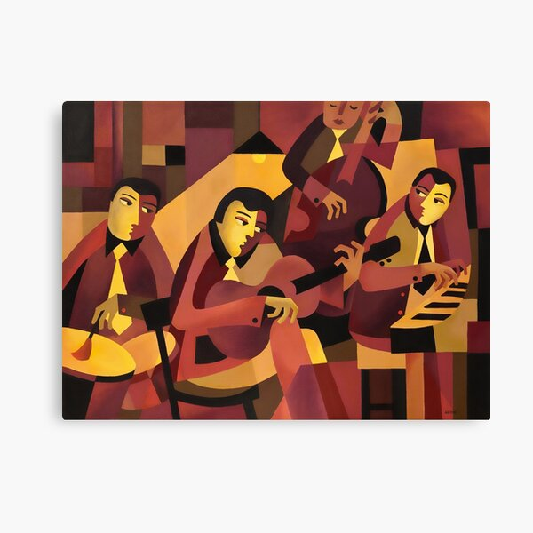 QUARTET II Canvas Print
