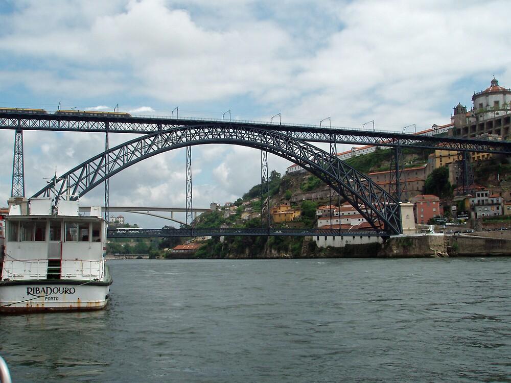 Porto - Dom Luis I Bridge by presbi