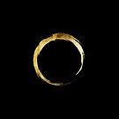 Yoga Om Ring Gold by cynoba
