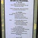 Rules For Teachers by Margaret Stevens