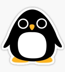 Comic penguin Sticker