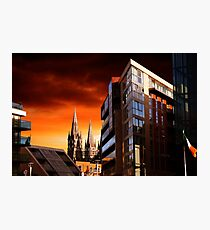 Sunset In Cork Photographic Print