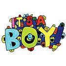 it's A Boy by Cardsbyakid