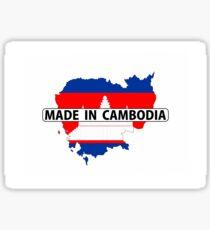 made in cambodia Sticker